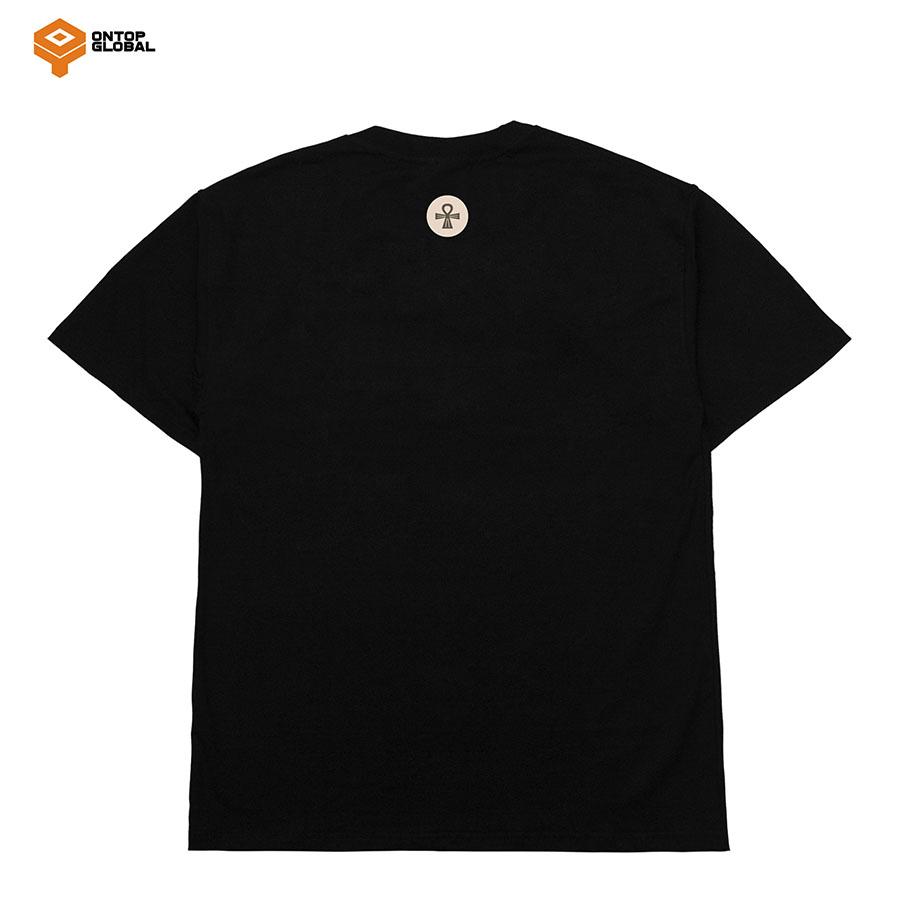 Áo thun unisex LEVEL màu đen local brand ONTOP