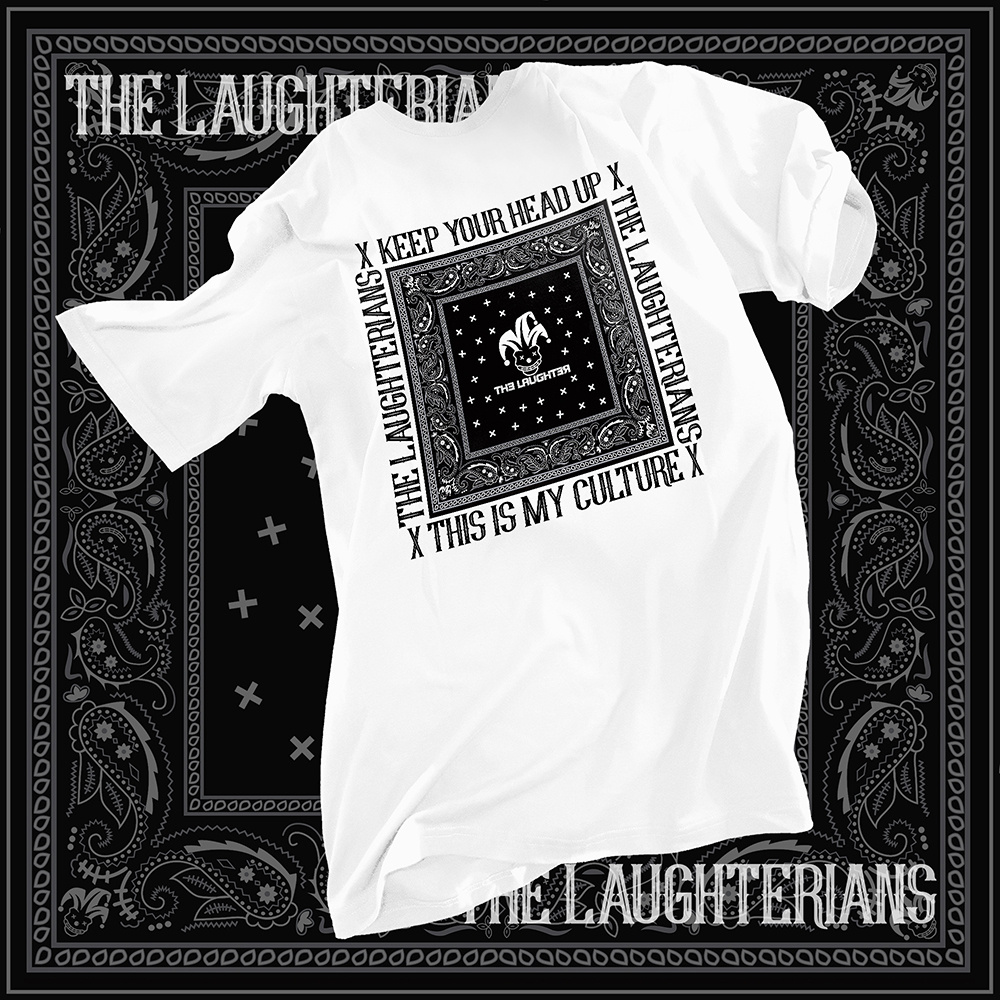 The Laughter - LAUGHTERIAN PATTERN T-Shirt