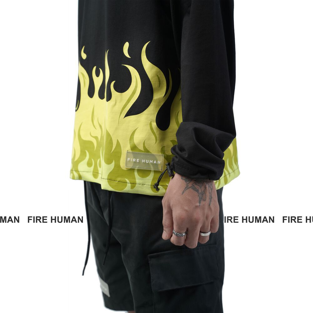 FIRE HUMAN © FLAME LONG SLEEVE