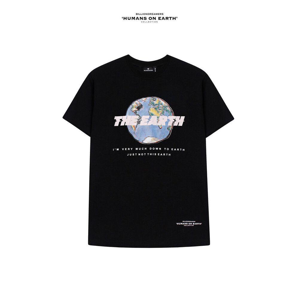 THE EARTH Tee BLACK
