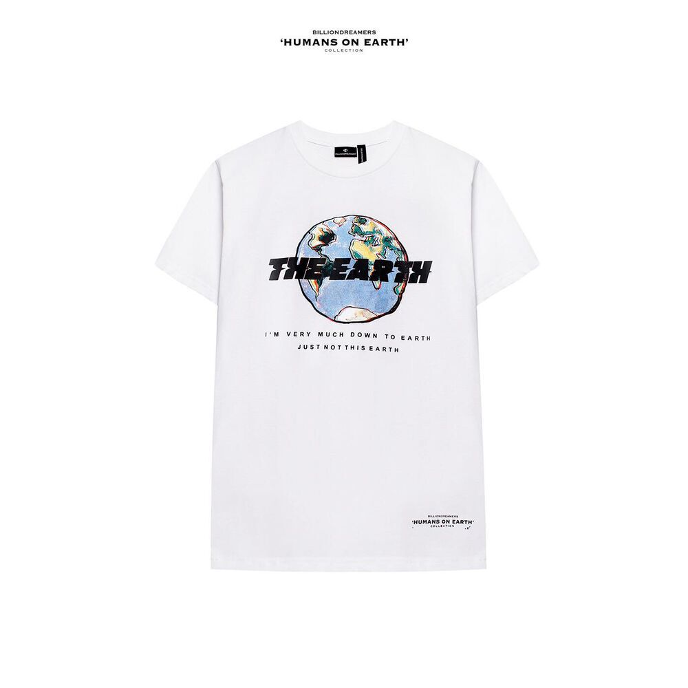 THE EARTH Tee WHITE