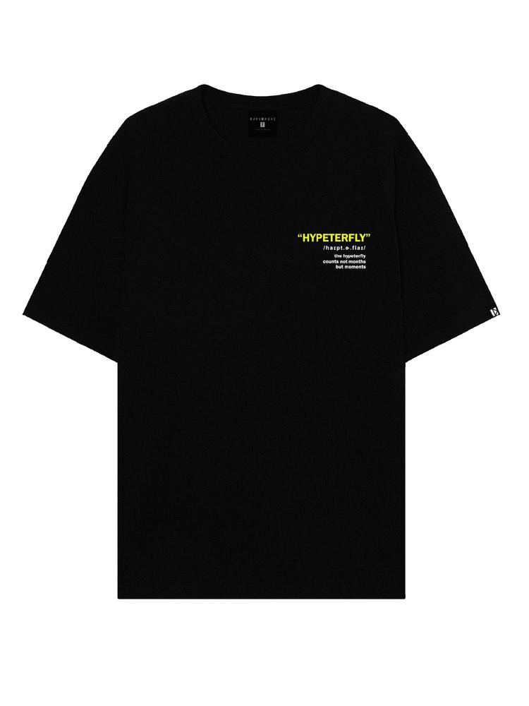 Black HYPETERFLY T-Shirt