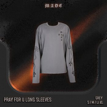 Pray for u long sleeves