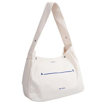 ASSENSE – NEWSIE MESSENGER BAG/ VINTAGE WHITE
