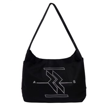 TOUCH REVERSABLE MESSENGER BAG | ASSENSE X SNAZZY