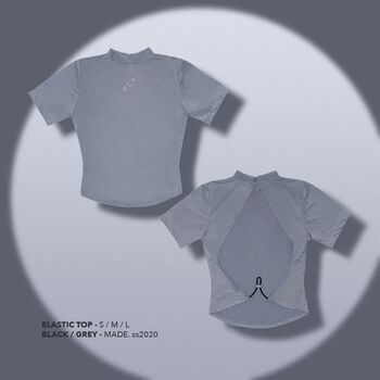 ELASTIC TOP - GREY