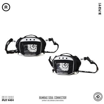 TÚI BUMBAG BIRDYBAG SOUL CONNECTOR - white flower