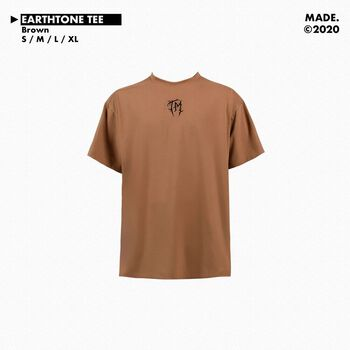 EARTHTONE TEE BROWN